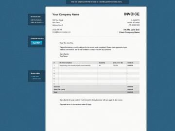 FINANCE by Zlement Invoice to me