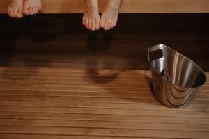 ošetření dřeva v sauně