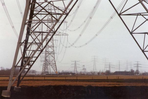 Meeden-Eemshaven in de koude winter van 1995-1996