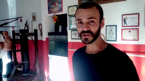 Алваро Наджименто. Поздравление газеты «Нераскрытые преступления»