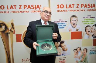 """Prof. Bolesław Rutkowski – inicjator akcji """"Uwaga nerki!"""" (2009)"""