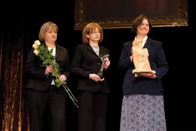 Polskie Towarzystwo Chorób Nerwowo-Mięśniowych otrzymało Honorową Nagrodę Zaufania Złoty OTIS 2010