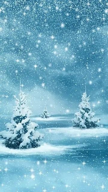 božična ozadja božična pravljica na snegu