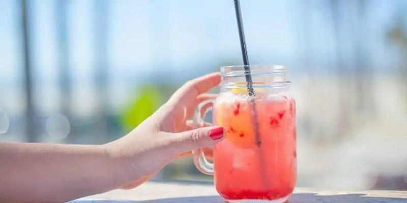 osvežilne pijače Limonada z jagodami