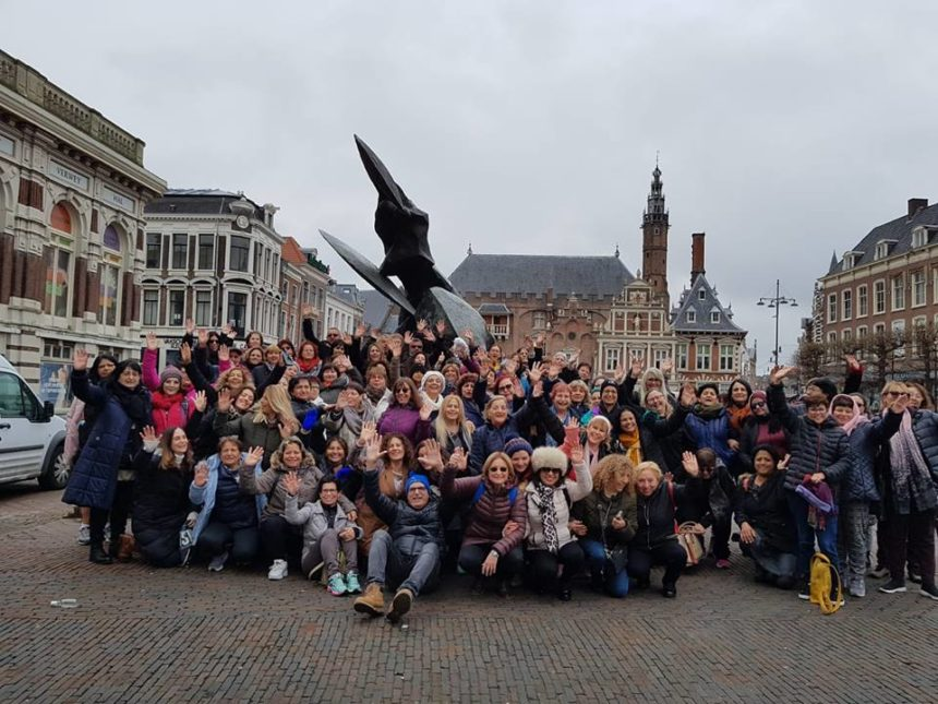 סיור של איזי ריידר באמסטרדם