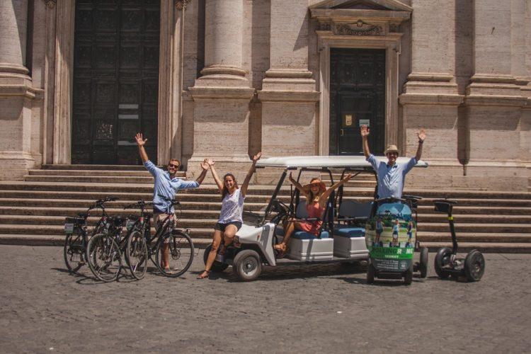 סיור סגווי ברומא