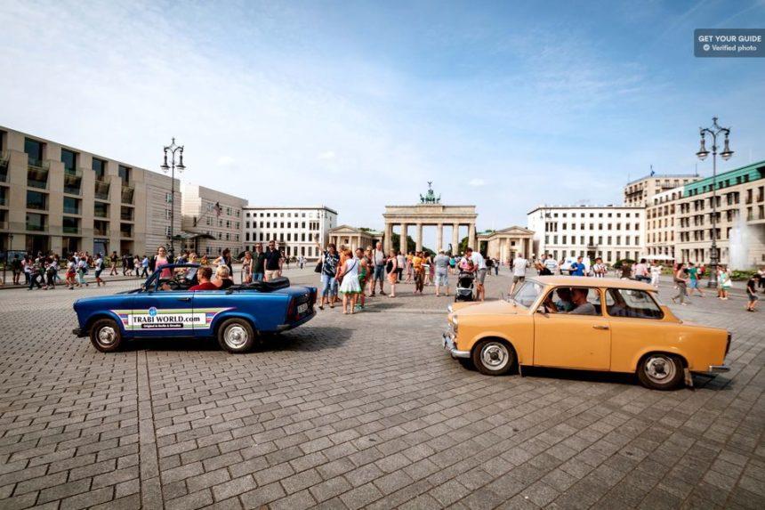 סיור במכונית בברלין