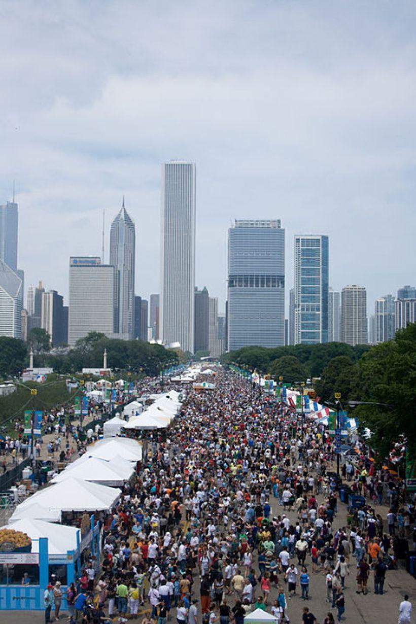 פסטיבל האוכל בשיקגו