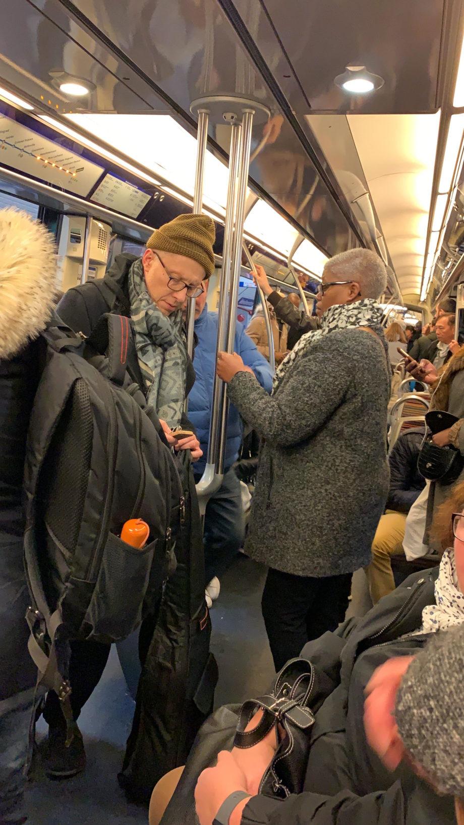 תחבורה ציבורית בפריז