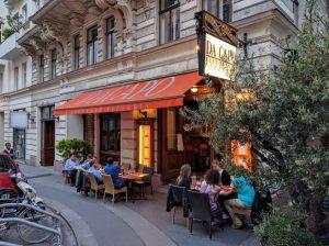 מסעדת דה קאפו, וינה