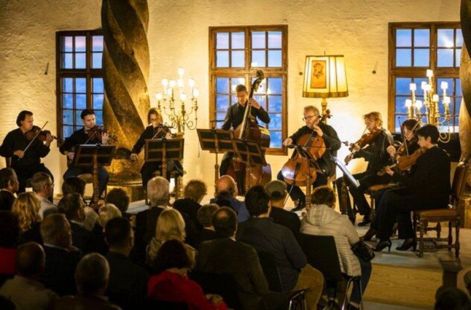 קונצרט של מוצארט בזלצבורג