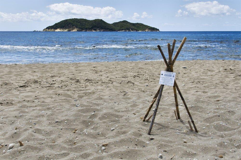 שמורת צבי הים, זקינטוס, יוון