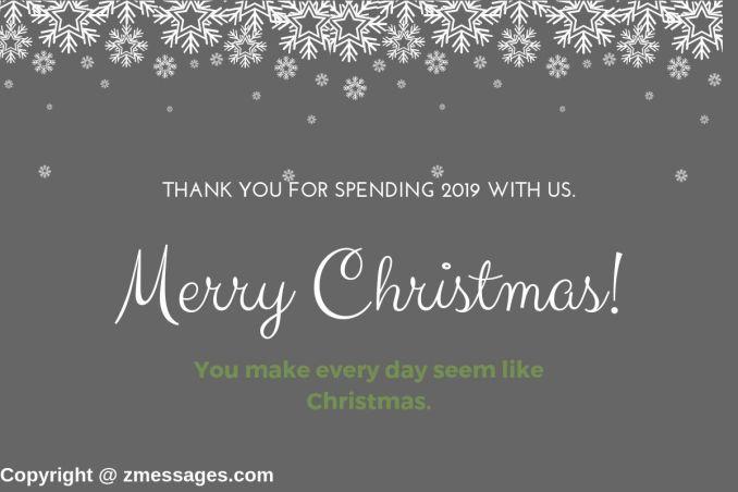 Christmas greetings for boss