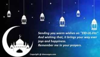 Happy Eid mubarak sms for lover