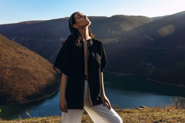 VASILISA Woolen Jacket by ZMIJANJE.design