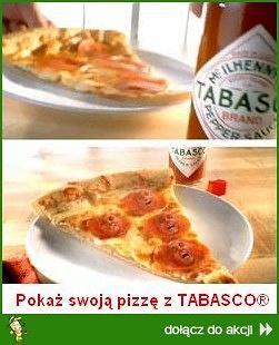 Pokaż swoją pizzę z TABASCO®