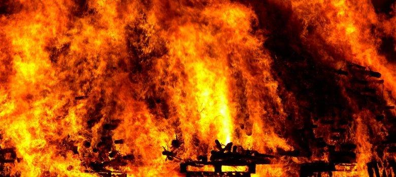 Pożar w Gdynii