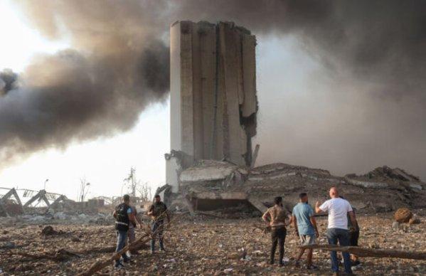 Порт Бейрута стерто с лица земли: в сети сравнили фото из ...