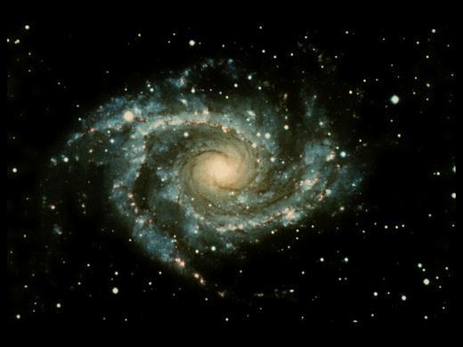Спиральная галактика NGC 2997