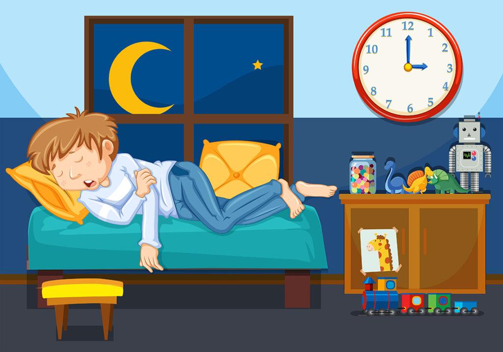 Varför pratar folk i sömnen