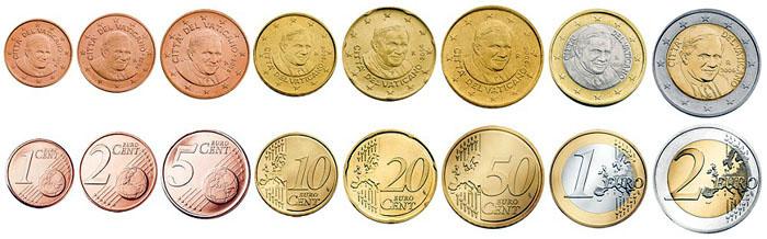 Az euróban lévő névleges számlák
