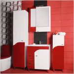 Шкаф пенал для ванной комнаты — как выбрать