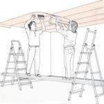 Как клеить обои на потолок — материалы, особенности, технология