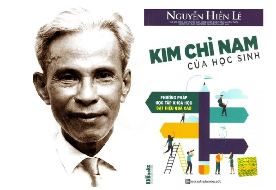 Hoc gia Nguyen Hien Le voi cuon sach day hoc sinh cach hoc hinh anh 1