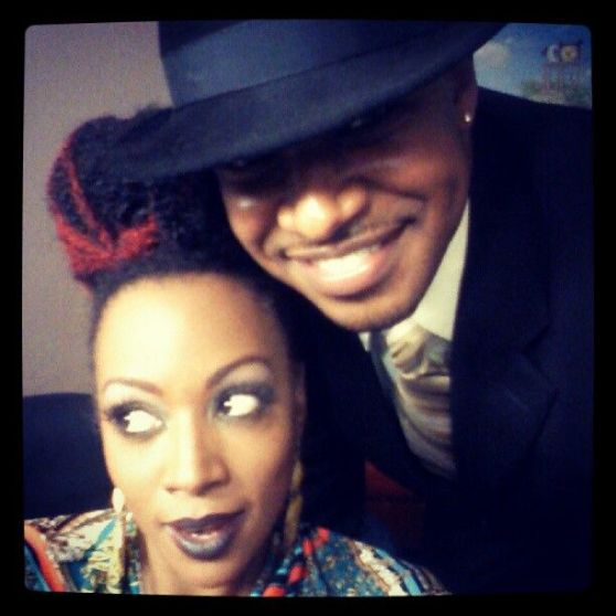 Me and Sy just before hitting the stage for the first show at Blues Alley in DC. (June 2012)