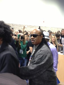 Stevie At NAMM2013