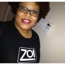 @Cocoa_Cheeks_ rockin' a Zo! shirt