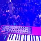 A view from the keys at the +FE show in Columbia, SC (Oct. 2013)
