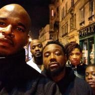 Black Van In Paris