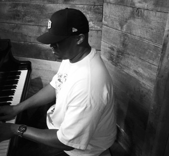 On the piano in Brooklyn, NY