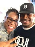 With my sis Miz Korona in Detroit