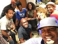 With Wes Felton, Dennis Turner, Sy Smith, Jon Laine, Muhsinah, Carmen Rodgers and Anthony David in VA
