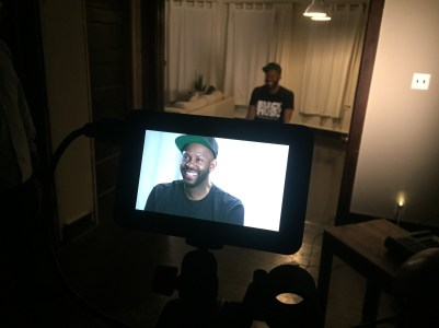 Waajeed filming for the 'SkyBreak' Documentary • 04.23.16