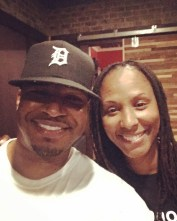 Me and Chamique Holdsclaw in Indianapolis • 06.04.16