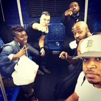 Tamisha, Nick, Phonte, Darion and I landing in Vegas • 10.14.16