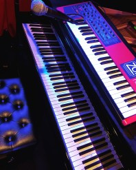 Piano + Synth in LA • 11.11.16