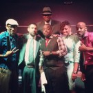 Me with Saxappeal, Zach Cutler, Tim Scott Jr., Carmen Rodgers and Darion Alexander after smashing the Las Vegas show (July 2013)
