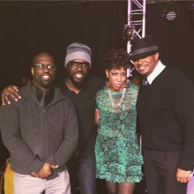 With Brandon Meeks, Brian Yarde and Carmen Rodgers after rockin' in Columbus, OH