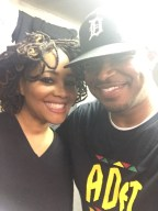 With Lalah Hathaway in Detroit