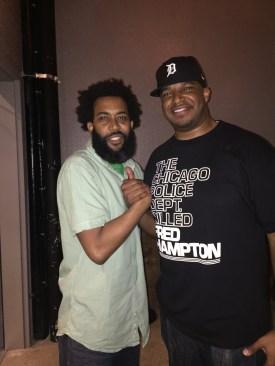 With Felonius Munk in Chicago