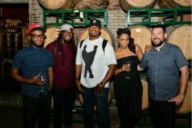 Jon Laine, Dennis Turner, Me, Carmen and Zach Cutler in Boston, MA • 06.15.16
