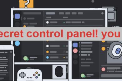 Disord Secret Control Panel