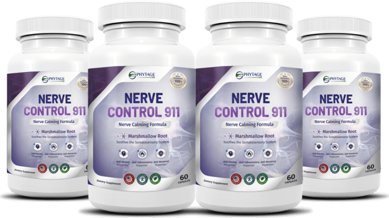 Nerve Control 911 Review - Phytage Labs Nerve Pills Effective? 1