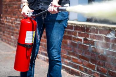What kind of extinguisher do I need for my business?