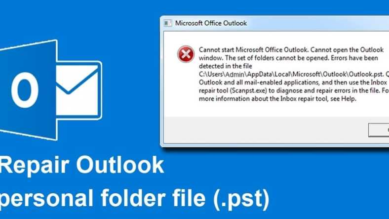 How to Repair .OST and .PST Outlook Data Files