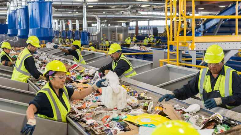 Why is regular rubbish removal needed for commercial areas